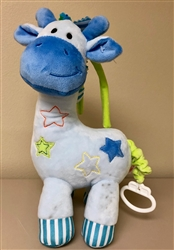 Blue Musical Giraffe