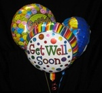 Balloon Bouquet - Get Well