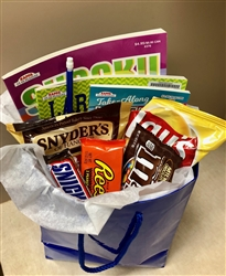 Entertainment & Snacks Gift Bag