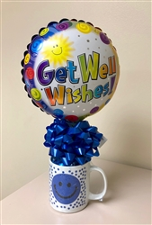 Mug with Candy and Balloon